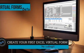 Create your first Excel Virtual Form Beta