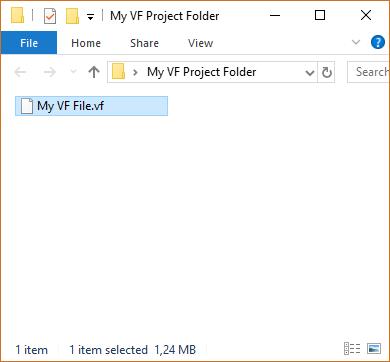 My VF Project Folder