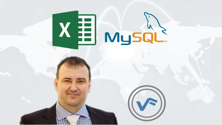Virtual Forms & Excel VBA & MySQL Course Cover